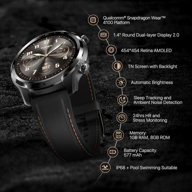 ticwatch 3 full specification
