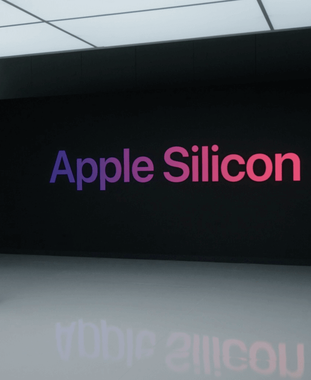 Apple M1 silicon chip , its first system on a chip for Mac computers
