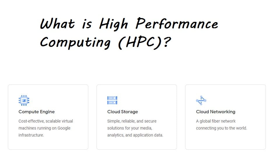 what is High performance computing hpc