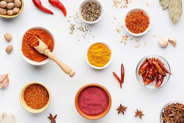 spices are Healthy Diet For Lungs