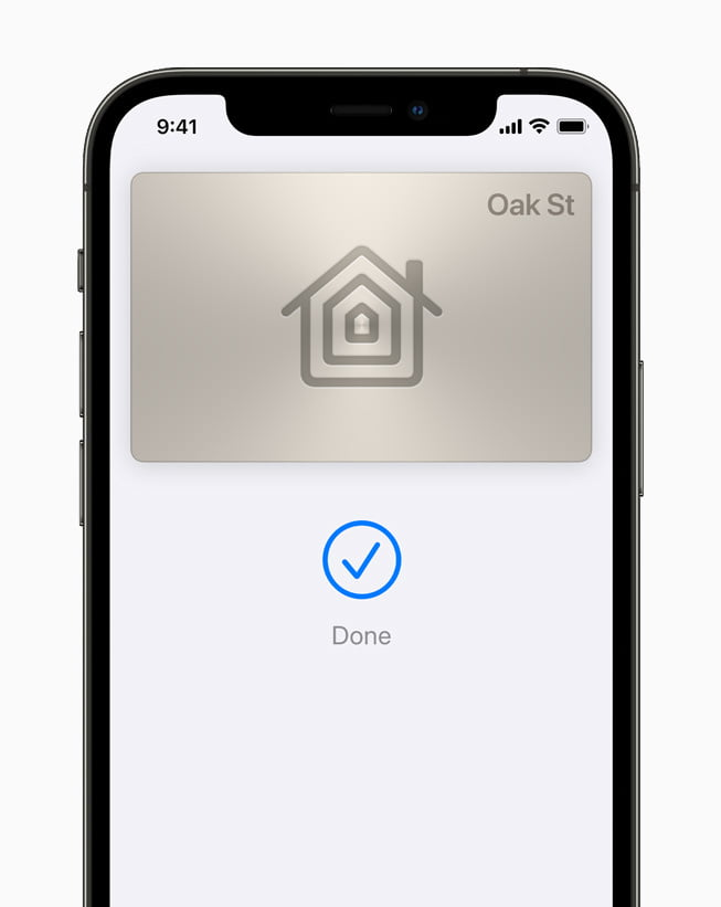 At Apple WWDC 2021,  Home and hotel keys and ID cards can now be put in the Wallet App