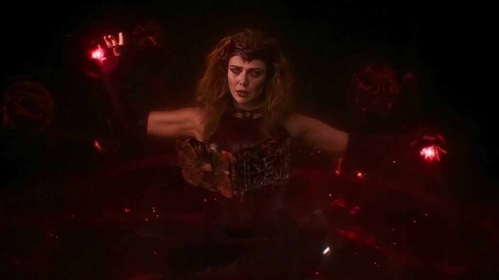 Scarlet Witch have growing The power in WandaVision