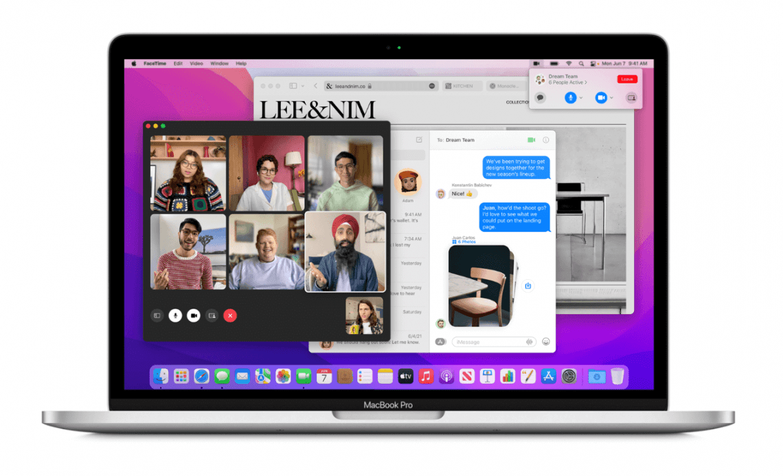 Apple macOS 12 Monterey Preview
