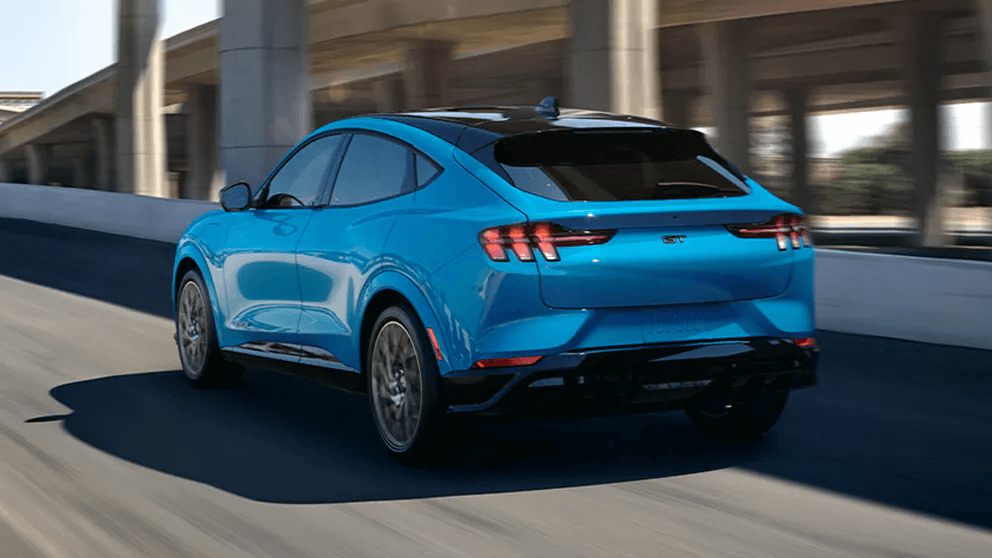Ford Mustang Mach-E GT Blue color  variant