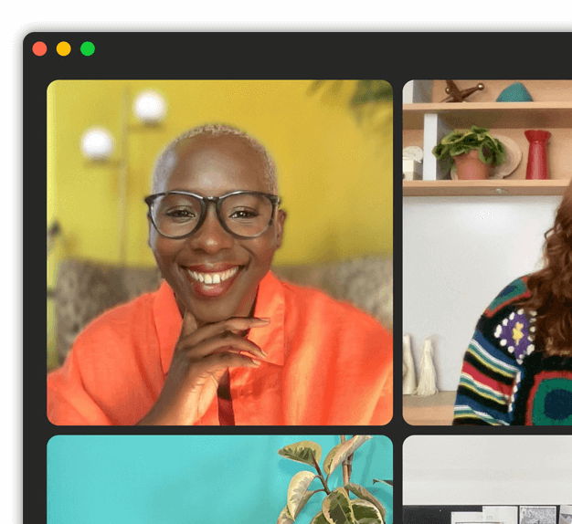 macOS Monterey facetime screen sharing in a portrait mode